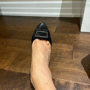 JLO black shoes